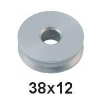 Holt Allen Seilscheibe Aluminium 38 x 12 HA 315