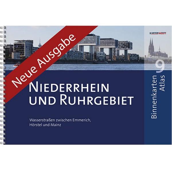 Sportbootkarten Binnen 9 - Niederrhein und Ruhrgebiet