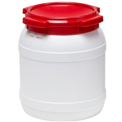 Transporttonne rund 15,4 Liter