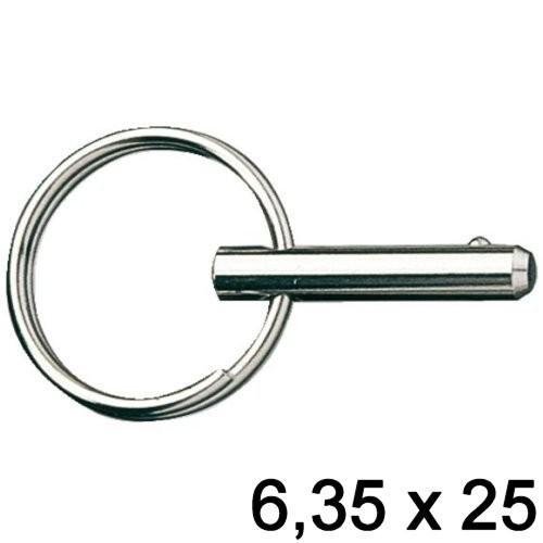 Fast Pin Kugelsperrbolzen 6,35 x 25