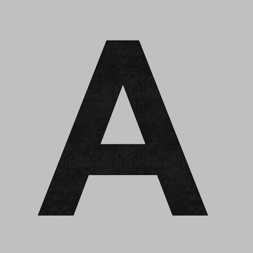 Klebebuchstabe 100mm schwarz A
