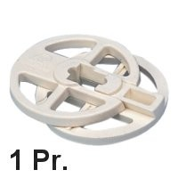 1 Paar (2x2-teilig) Rondo - Segelschoner