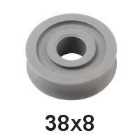 Holt Allen Seilscheibe Acetal 4-6mm HA 150