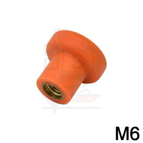 Rändelmutter M6
