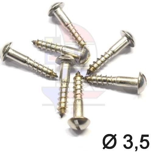 Halbrundkopfschraube 3,5 (DIN 96)