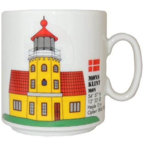 Leuchtturmtasse Insel Moen / Dänemark