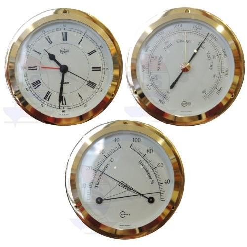 Barigo Star 3er-Set Quarzuhr + Barometer + Comfortmeter
