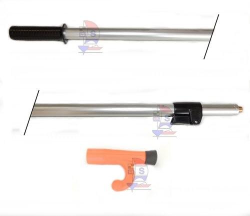 Bootshaken Orange + Teleskop-Stiel