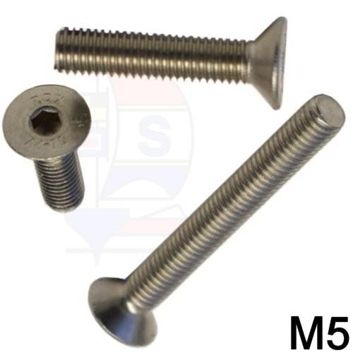 Senkkopfschraube M5 (DIN 7991)