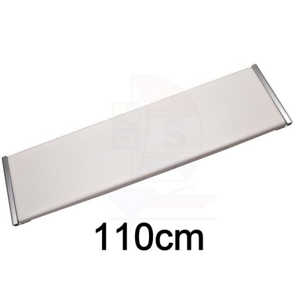 GFK Sitzbrett 110cm Typ Keder Aluminium