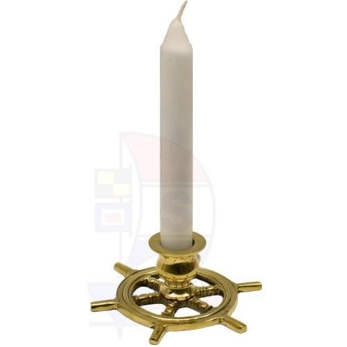 Kerzenhalter Steuerrad