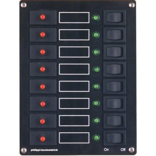 Philippi Schaltpaneel STV 108 8-fach