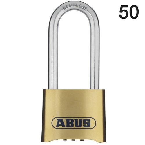 ABUS Zahlenschloss 50 hoher Bügel
