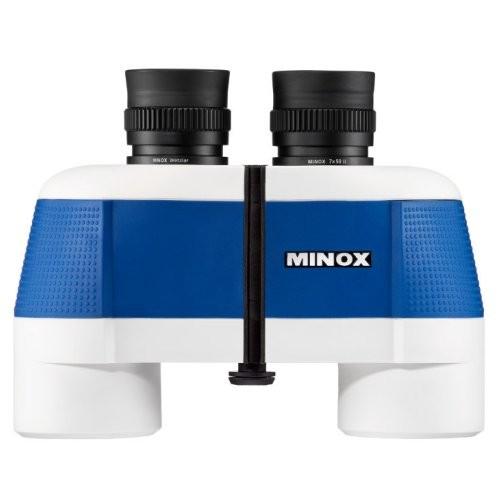 Minox Fernglas BN 7 x 50 II blau / weiß