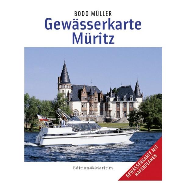 Gewässerkarte Müritz / Müller