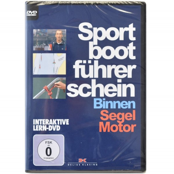 DVD Sportbootführerschein Binnen Segel Motor