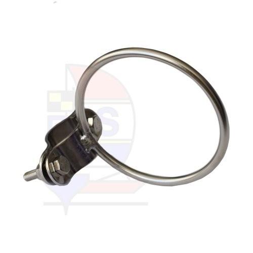 Prasolux Rohrschelle mit Ring 75mm