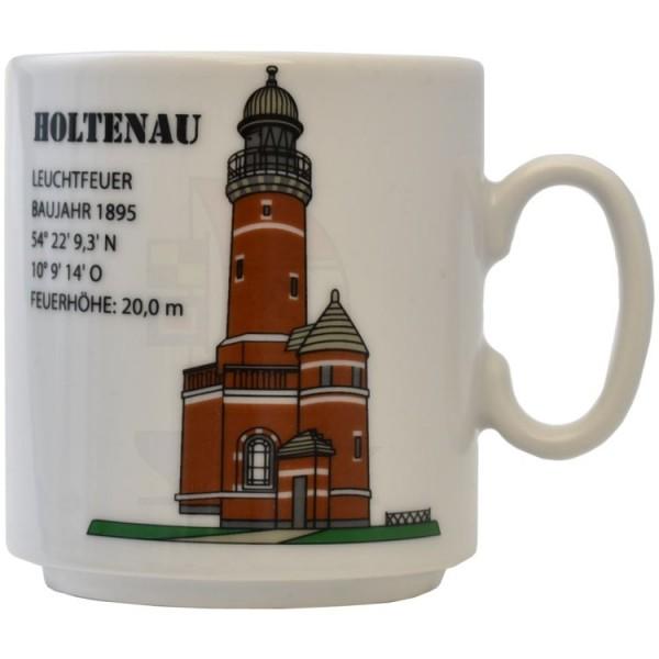 Leuchtturmtasse Holtenau / Ostsee