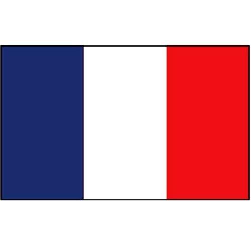 Flagge Gastland Frankreich