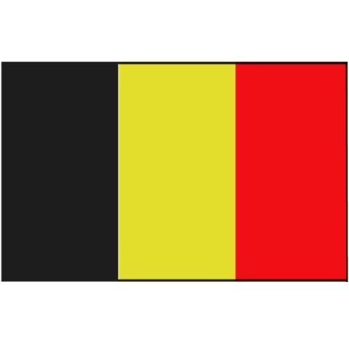 Flagge Gastland Belgien