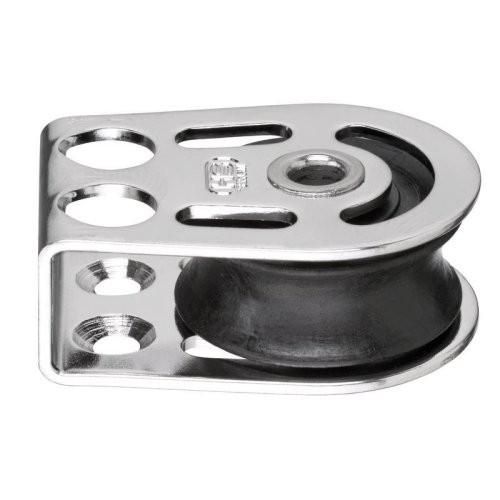 Sprenger Block 1fach liegend mit Hohlachse 8mm gleit