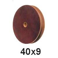 Seilscheibe Tufnol 40 x 9