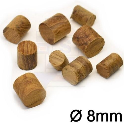 100 St. Teakholz Profpen 8mm