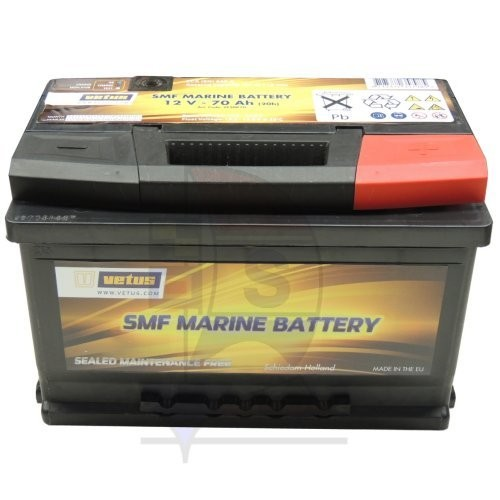 Vetus SMF Marine Batterie 70 Ah
