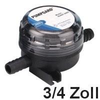 Jabsco Wasserfilter grob 3/4 Zoll