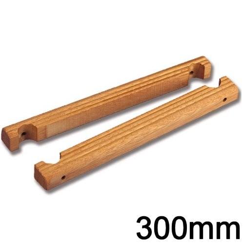 Badeleiterstufe Teak 300mm