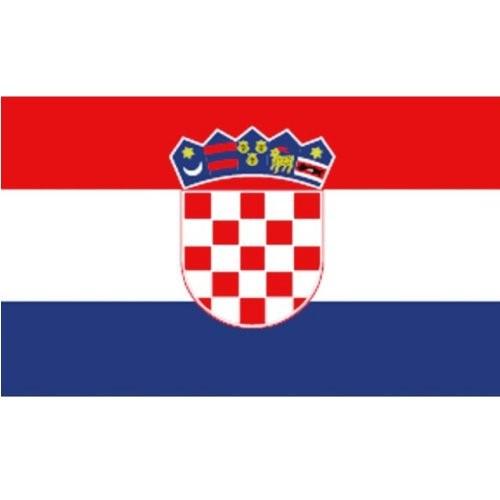 Flagge Gastland Kroatien