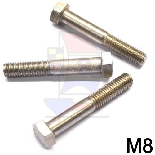Sechskantkopfschraube mit Schaft M8