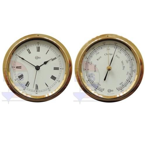 Barigo Regatta 2-er Set Quarzuhr + Barometer