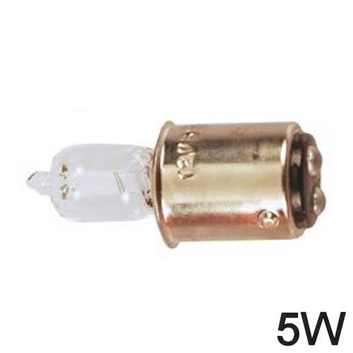 Glühlampe 5W BA 15d Halogen