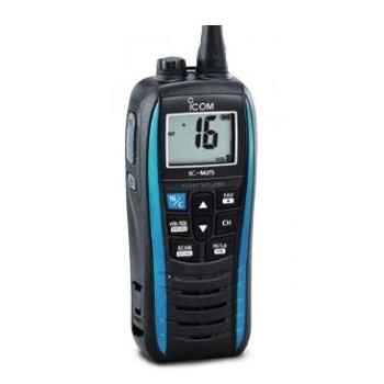 Icom UKW-Seefunk Handgerät IC-M25 blau