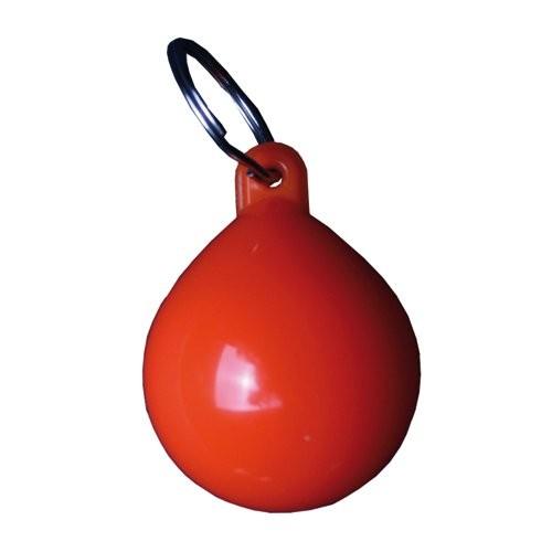 Schlüsselanhänger Kugelfender orange
