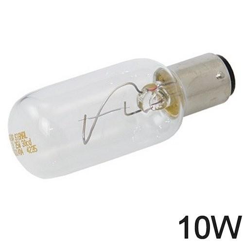 Glühlampe 10W BA Y 15d lange Form