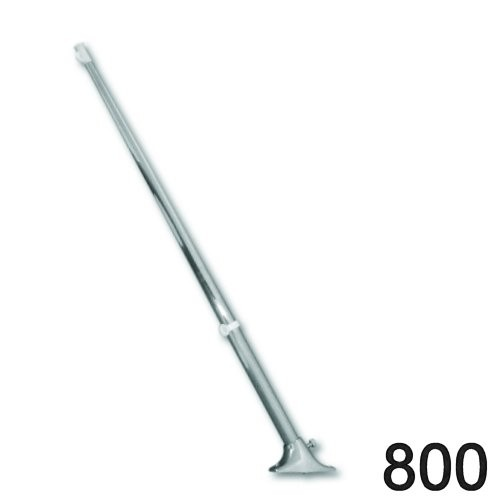 Flaggenstock mit Halterung 800mm niro