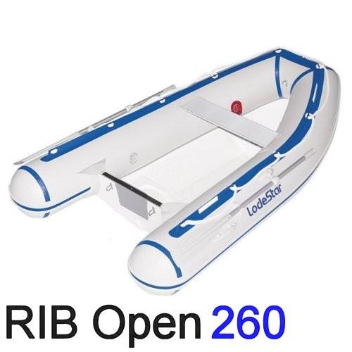 LodeStar Schlauchboot RIB Open 260 HD