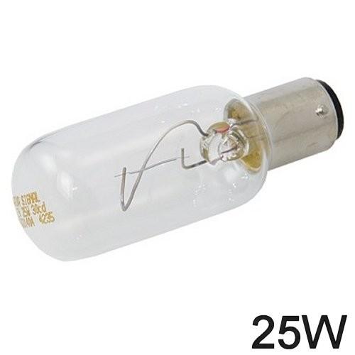 Glühlampe 25W BA Y 15d lange Form