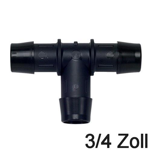 Schlauchverbinder T-Stück 3/4 Zoll