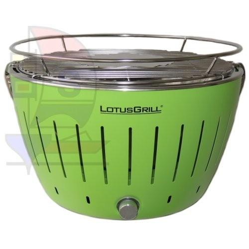 LotusGrill + Grillzange limettengrün