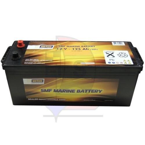 Vetus SMF Marine Batterie 125 Ah