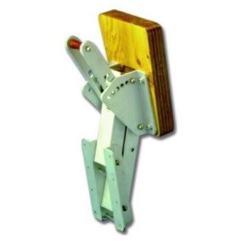 Motorhalter 40kg Alu/Holz verstellbar