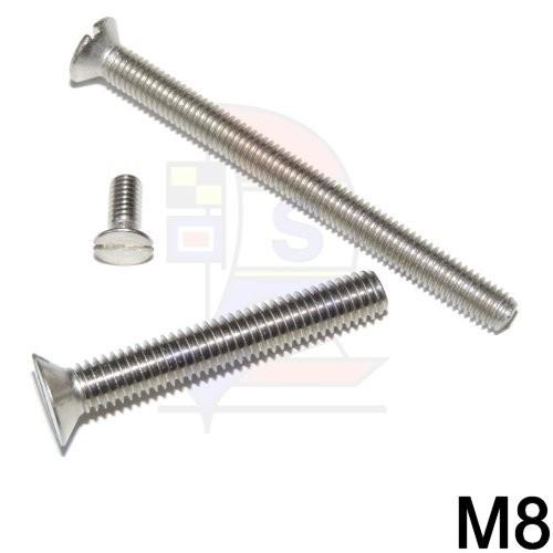 Senkkopfschraube M8 (DIN 963)