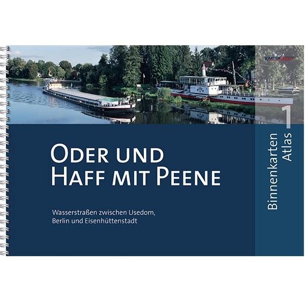 Sportbootkarten Binnen 1 - Oder und Haff mit Peene