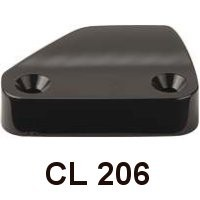 Clamcleat CL 206 Steuerbord