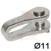 Selden Toggle Auge / Gabel 11mm Hasselfors