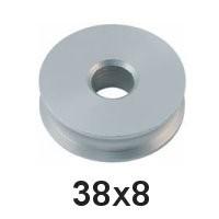 Holt Allen Seilscheibe Aluminium 38 x 8 HA 83