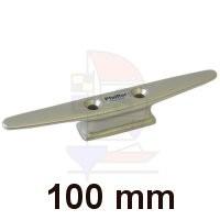 Mastklampe 100mm silber